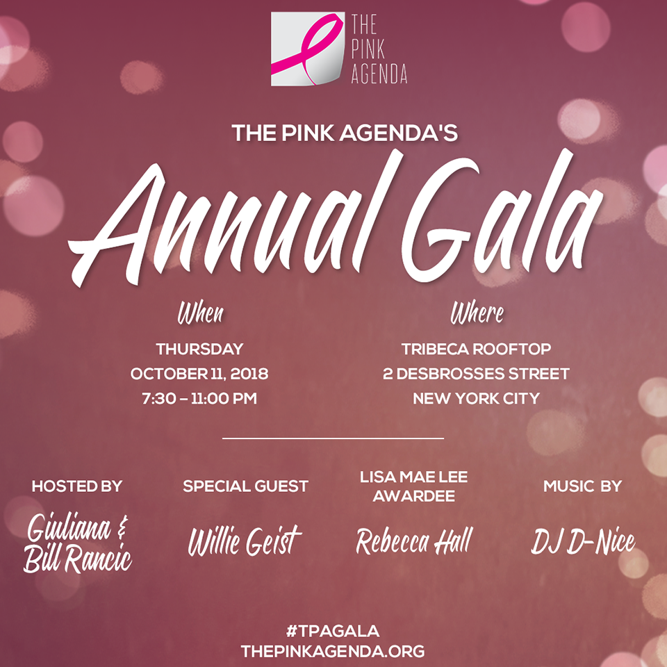 Annual Agenda | Upcoming Events The Pink Agenda